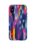 Kaleidoscope Brush Stroke iPhone X Pro Case