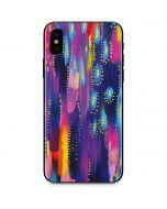 Kaleidoscope Brush Stroke iPhone X Skin