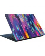 Kaleidoscope Brush Stroke Surface Laptop Skin