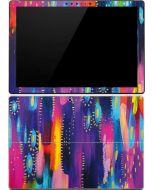 Kaleidoscope Brush Stroke Surface Pro (2017) Skin