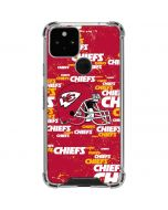 Kansas City Chiefs - Blast Alternate Google Pixel 5 Clear Case