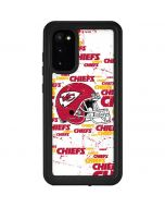 Kansas City Chiefs - Blast Galaxy S20 Waterproof Case
