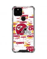 Kansas City Chiefs - Blast Google Pixel 5 Clear Case