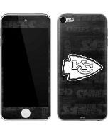 Kansas City Chiefs Black & White Apple iPod Skin