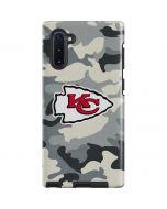 Kansas City Chiefs Camo Galaxy Note 10 Pro Case