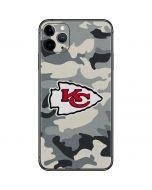 Kansas City Chiefs Camo iPhone 11 Pro Max Skin