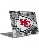 Kansas City Chiefs Camo Apple MacBook Air Skin