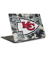Kansas City Chiefs Camo Dell XPS Skin