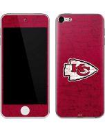 Kansas City Chiefs Distressed Apple iPod Skin