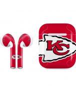 Kansas City Chiefs Large Logo Apple AirPods Skin