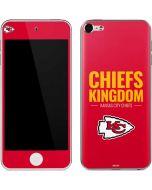 Kansas City Chiefs Team Motto Apple iPod Skin