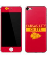 Kansas City Chiefs Red Performance Series Apple iPod Skin