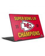 Kansas City Chiefs Super Bowl LIV Champions HP Envy Skin