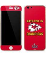 Kansas City Chiefs Super Bowl LIV Champions iPhone 6/6s Skin