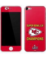 Kansas City Chiefs Super Bowl LIV Champions Apple iPod Skin