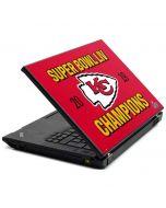 Kansas City Chiefs Super Bowl LIV Champions Lenovo T420 Skin