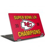 Kansas City Chiefs Super Bowl LIV Champions Dell XPS Skin