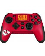 Kansas City Chiefs Team Motto PlayStation Scuf Vantage 2 Controller Skin