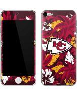 Kansas City Chiefs Tropical Print Apple iPod Skin
