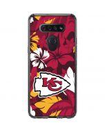 Kansas City Chiefs Tropical Print LG K51/Q51 Clear Case