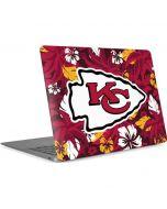 Kansas City Chiefs Tropical Print Apple MacBook Air Skin