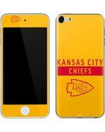 Kansas City Chiefs Yellow Performance Series Apple iPod Skin