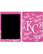 Kansas City Royals - Pink Cap Logo Blast Apple iPad Skin