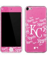 Kansas City Royals - Pink Cap Logo Blast Apple iPod Skin