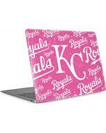 Kansas City Royals - Pink Cap Logo Blast Apple MacBook Air Skin