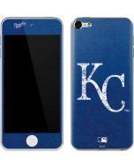 Kansas City Royals - Solid Distressed Apple iPod Skin