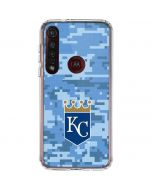 Kansas City Royals Digi Camo Moto G8 Plus Clear Case