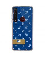 Kansas City Royals Full Count Moto G8 Plus Clear Case