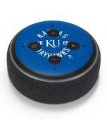 Kansas Jayhawks KY 1865 Amazon Echo Dot Skin