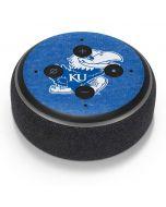 Kansas Jayhawks Mascot Outline Amazon Echo Dot Skin
