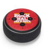KansasRock Chalk Jayhawk Amazon Echo Dot Skin