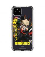 Katsuki Bakugo Google Pixel 5 Clear Case