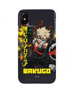 Katsuki Bakugo iPhone XS Lite Case