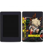Katsuki Bakugo Amazon Kindle Skin
