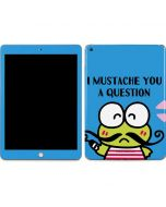 Keroppi I Mustache You A Question Apple iPad Skin
