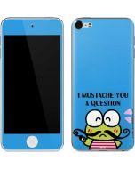 Keroppi I Mustache You A Question Apple iPod Skin
