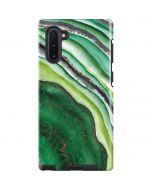 Kiwi Watercolor Geode Galaxy Note 10 Pro Case
