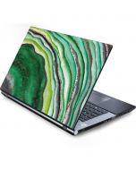 Kiwi Watercolor Geode Generic Laptop Skin
