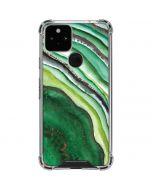 Kiwi Watercolor Geode Google Pixel 5 Clear Case