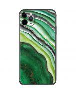 Kiwi Watercolor Geode iPhone 11 Pro Max Skin