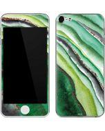 Kiwi Watercolor Geode Apple iPod Skin