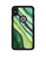 Kiwi Watercolor Geode Otterbox Commuter iPhone Skin