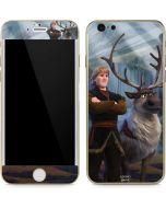 Kristoff and Sven iPhone 6/6s Skin