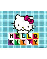 Hello Kitty Blue Pattern Apple iPod Skin