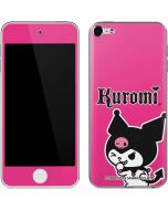 Kuromi Bold Print Apple iPod Skin