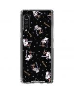 Kuromi Crown LG Velvet Clear Case